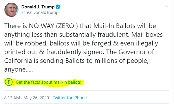 Edan Gelt - President Trump Tweet 1