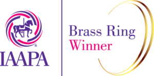 Edan Gelt IAAPA brass ring award winner